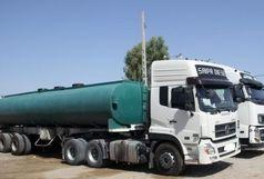 قاچاقچی سوخت در ایرانشهر زمین گیر شد