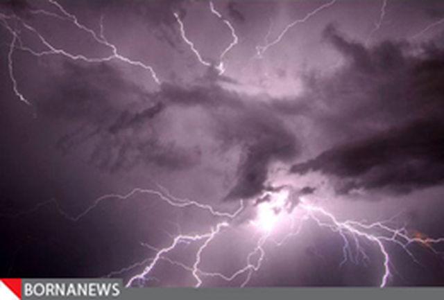 هشدار سازمان هواشناسی در مورد برقگرفتگی ناشی از صاعقه در 6 استان کشور