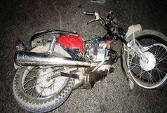 جان باختن موتورسوار 18 ساله در سیاهکل